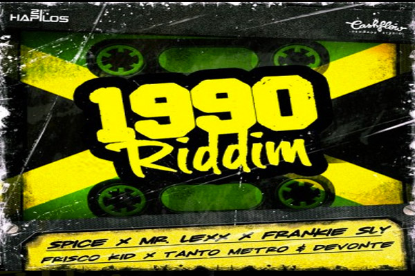 1990 Riddim – Invasion Riddim – Cashflow Records – Dec 2012