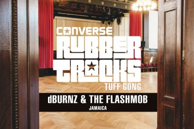 dBURNZ & The FlashMob selected for Converse Rubber Tracks studio takeover