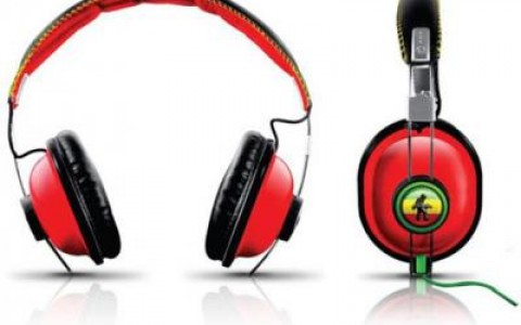 Rasta Graffiti Spraygrounds headphones