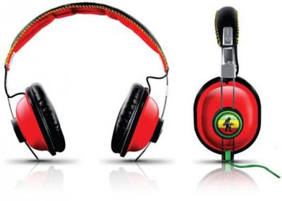 Rasta & Camouflage Headphones