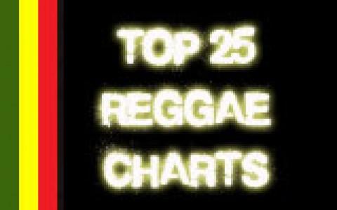 top 25 reggae charts