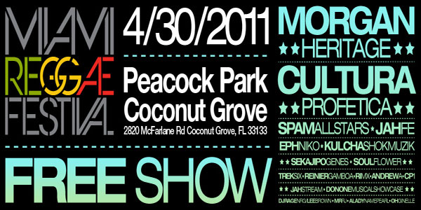 *Dancehall & Reggae Events Florida April 2011*