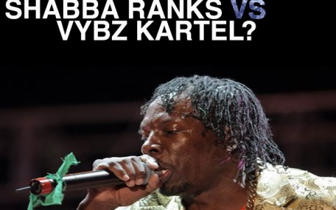 Vybz Kartel Beefing with Shabba Ranks May 2011