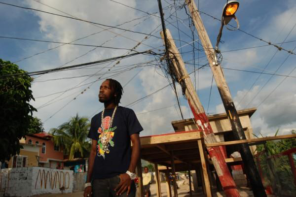 Mavado and is manager arrested