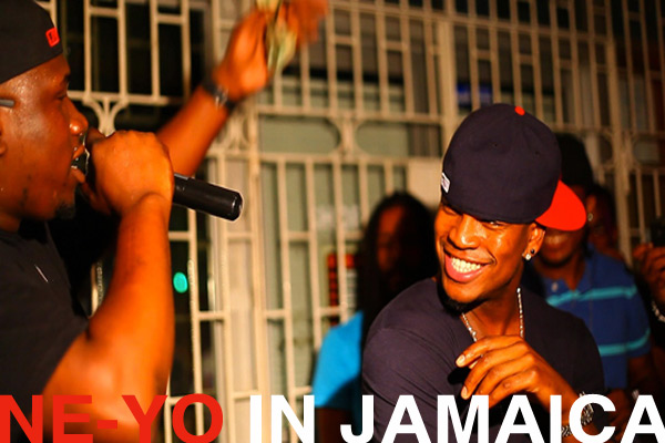 Ne-Yo Launched Compound Island Label In JA