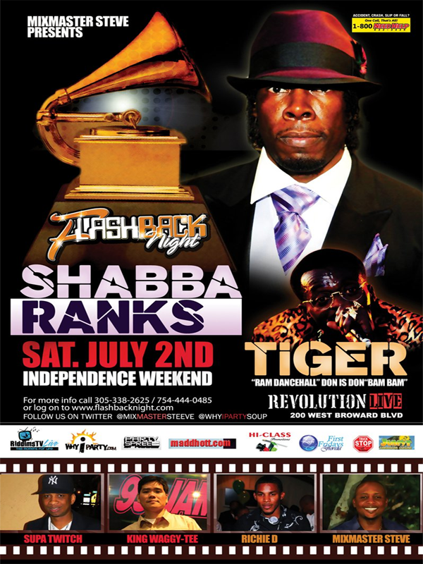 *Upcoming Dancehall Events July 2011*