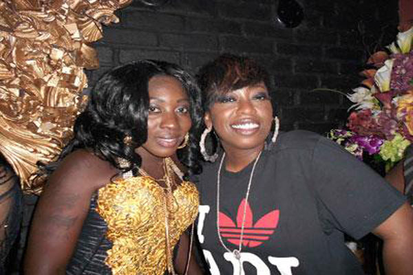 Spice & Missy Elliot Have Fun Together