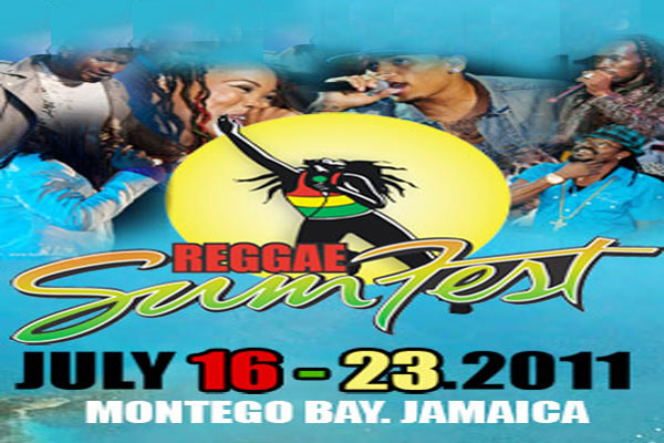 Mobay Reggae  SumFest 2011 Vids From Dancehall Night