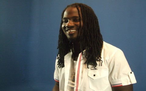 I-OCTANE Khago share stage with Capleton