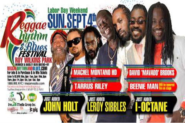 *I-Octane Joins Reggae, Rhythm & Blues Festival*