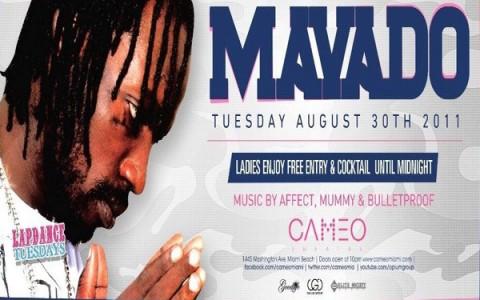 mavado live in miami August 2011