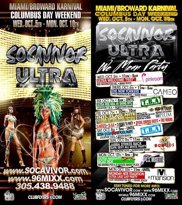 *Socavivor Ultra Miami Broward Carnival 2011*