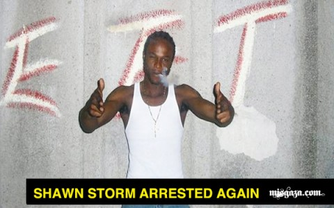 Shawn Storm arrested again
