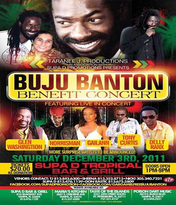 *Buju Banton Benefit Concert*