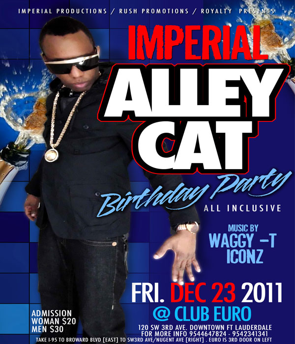 *Alley Cat B-Day Bash @ Club Euro Dec 23*