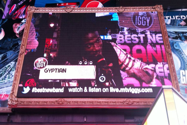 Gyptian Live In NYC For MTV Iggy