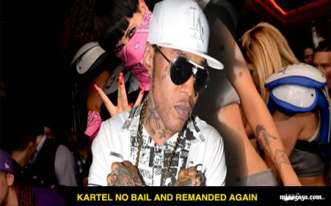 Latest news Vybz Kartel remanded again dec19