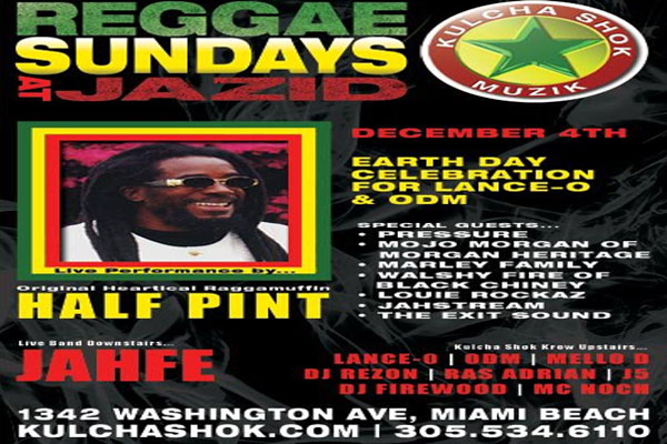 *Half Pint Live @ Jazid Miami Beach*