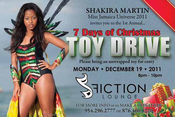 <strong>Miss Jamaica Universe 2011 Shakira Martin Toy Drive</strong>