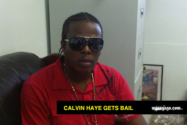 CALVIN MONIE HAYE GETS BAIL in vybz kartel case JAN 2012