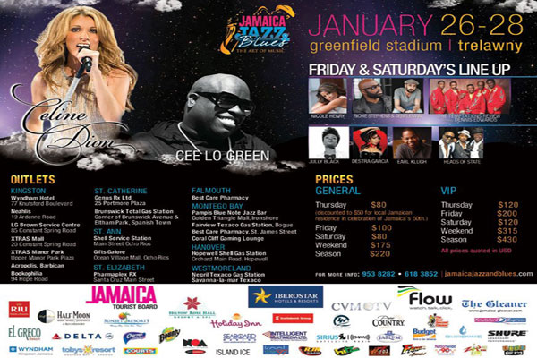 Jamaica Jazz & Blues Festival 2012 Recaps
