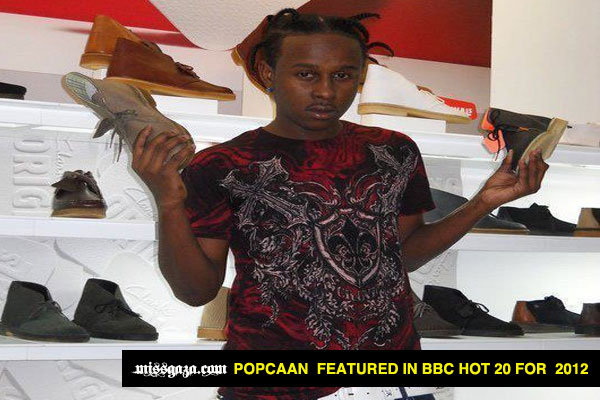 Popcaan On BBC Hot 20 Fi 2012