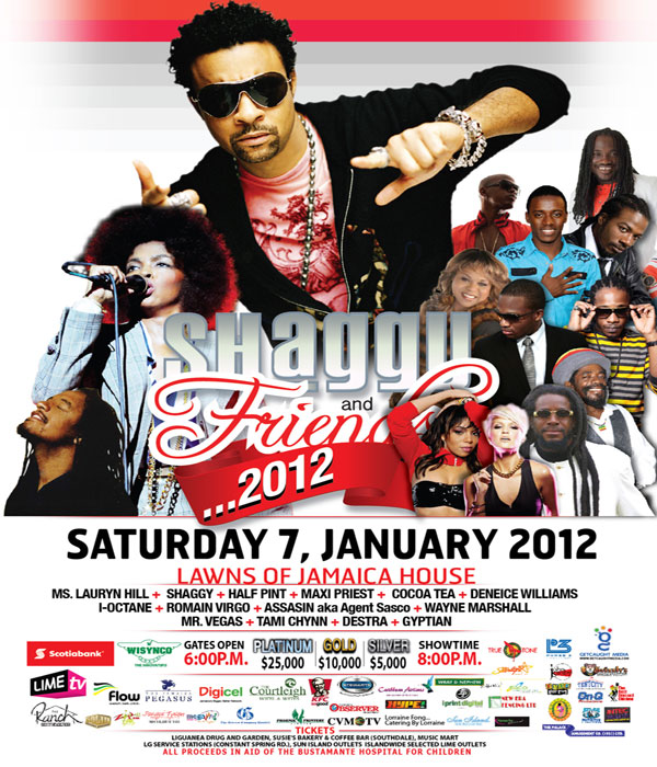 *Shaggy & Friends 2012 Line Up*