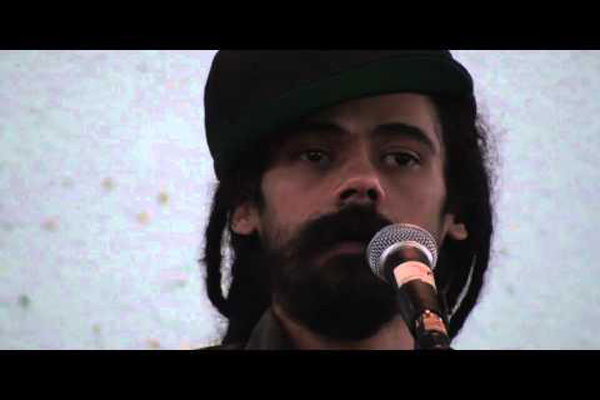 *Damian Marley At University Of The West Indies*