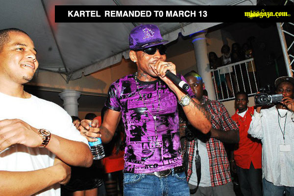 VYBZ KARTEL REMANDED AGAIN FEB 24