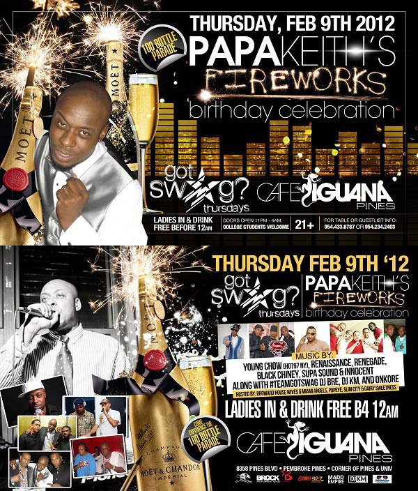 *Upcoming South Florida Reggae & Dancehall Events Feb 2012*