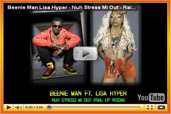 Beenie Man Out & Clean and Nuh Stress Me Out Video
