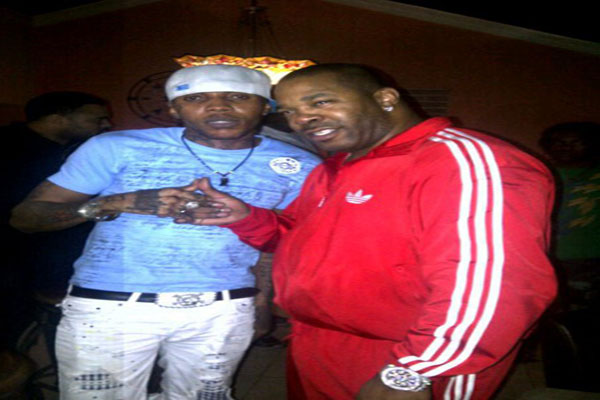 Vybz Kartel , Busta Rhymes @ Studio Recording ,With Don Corleon