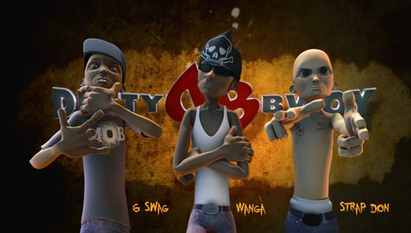 dutty bwoy Jamaican 3d animation series
