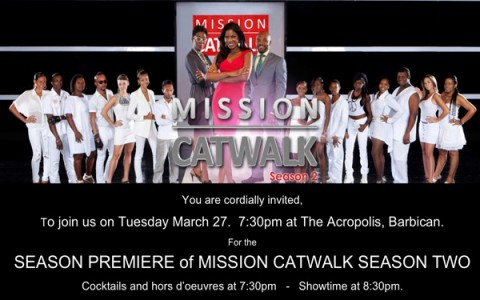 INVITATION SEASON PREMIERE Mission CatWalk 2
