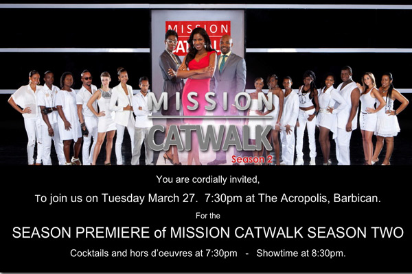 Mission Catwalk Season Premiere Party March 27