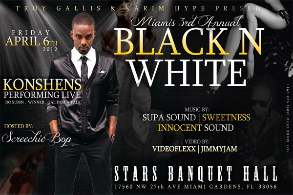 Konshens Live In Miami Friday April 6 2012