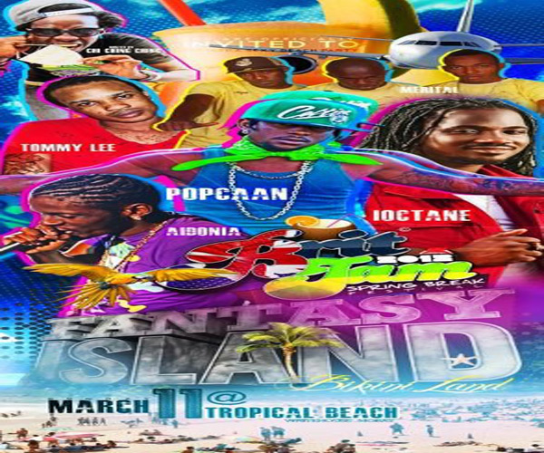 Brit Jam Fantasy Island Mobay March 11 2012