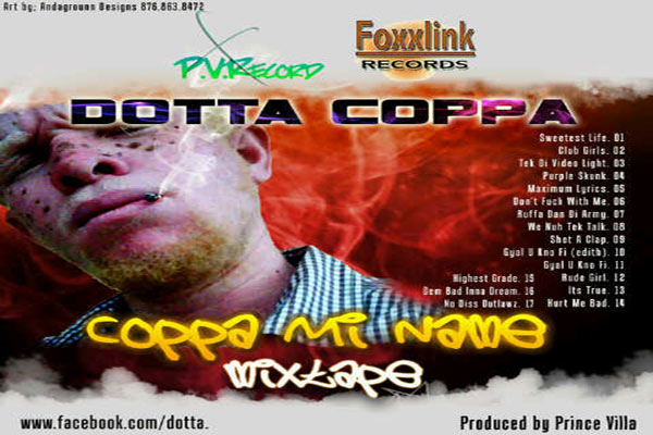Coppa Mi Name Mixtape april 2012