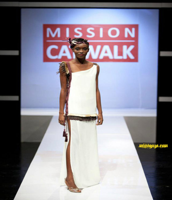 Crystal Powell winning design Mission Catwalk 2