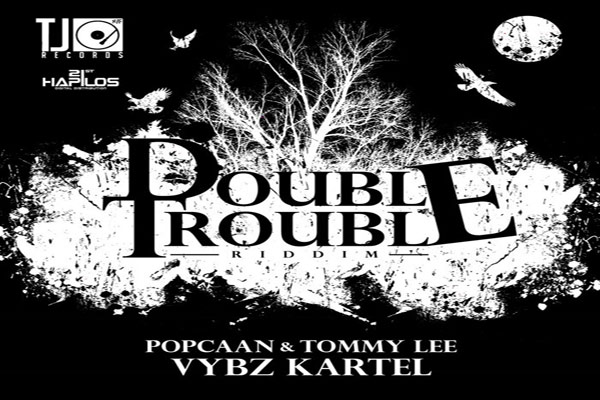 <strong>Listen to Vybz Kartel Popcaan Tommy Lee &#8211; Double Trouble Riddim &#8211; TJ Records</strong>