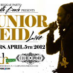 JUNIOR REID LIVE in south beach miami club play april 5
