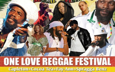 Miami One Love Reggae Festival May 13 2012