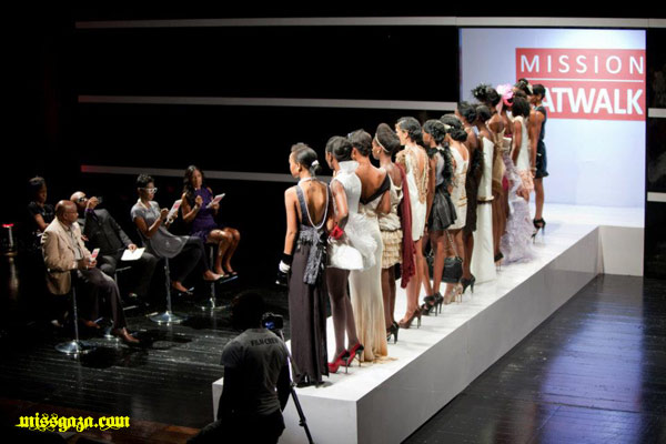 models and judges on Mission Catwalk 2 episode 3