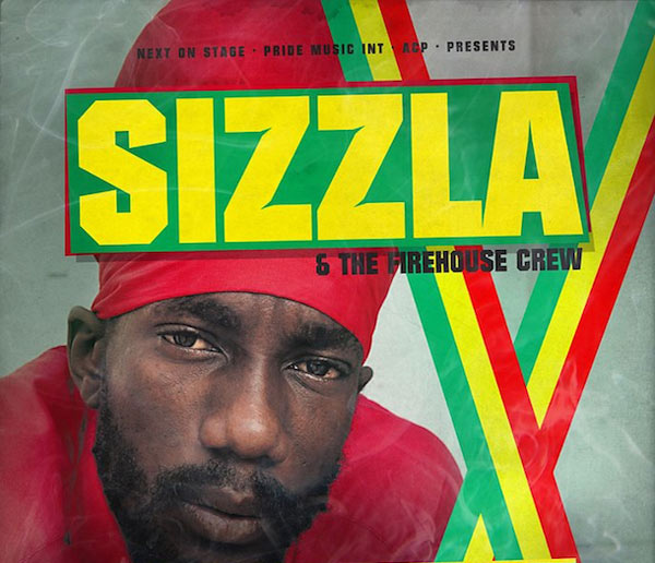 Sizzla European tour 2012
