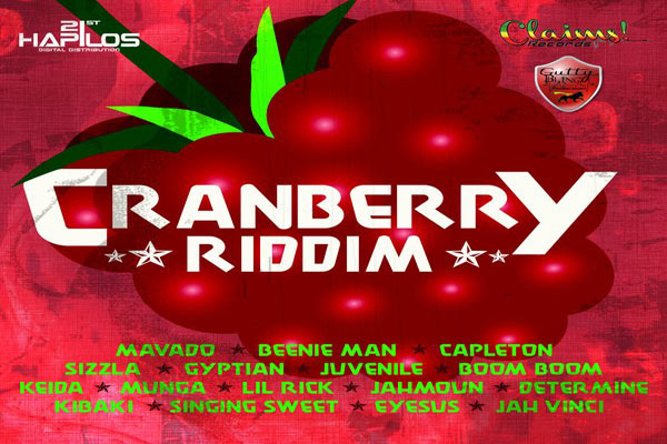 Listen to Reggae Dancehall Music – Cranberry Riddim – Claims Records