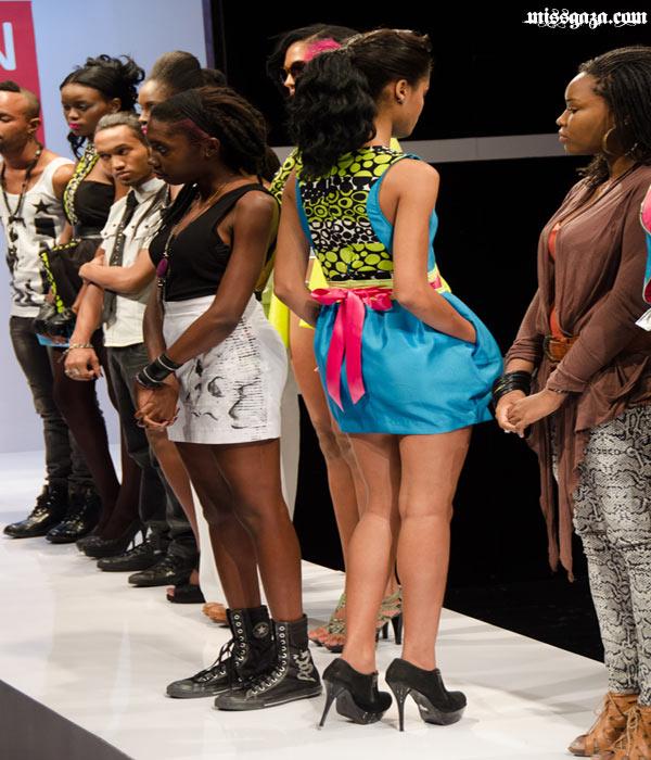 Kesia Estwick winning dress Mission Catwalk 2
