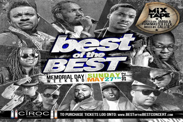 Best Of The Best Concert 2012 Memorial Day Week-End Miami Sunday May 27