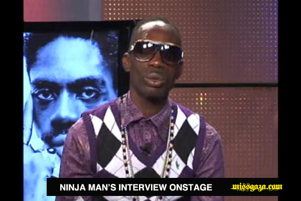 <strong>Ninja Man&#8217;s Interview On Stage With Winford Williams May 2012 </strong>