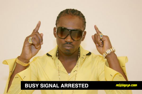 Busy Signal Arrested On Extradition Warrant