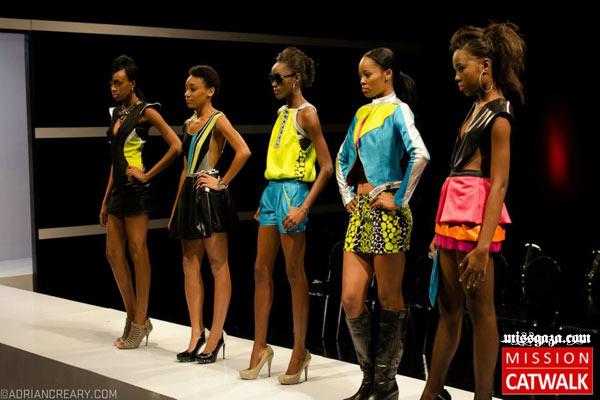 Models and designs in Mission Catwalk 2 episode 7